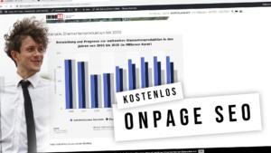 Ottimizzazione SEO Onpage - Suggerimenti sul sito con definizione e video esplicativo (gratis)