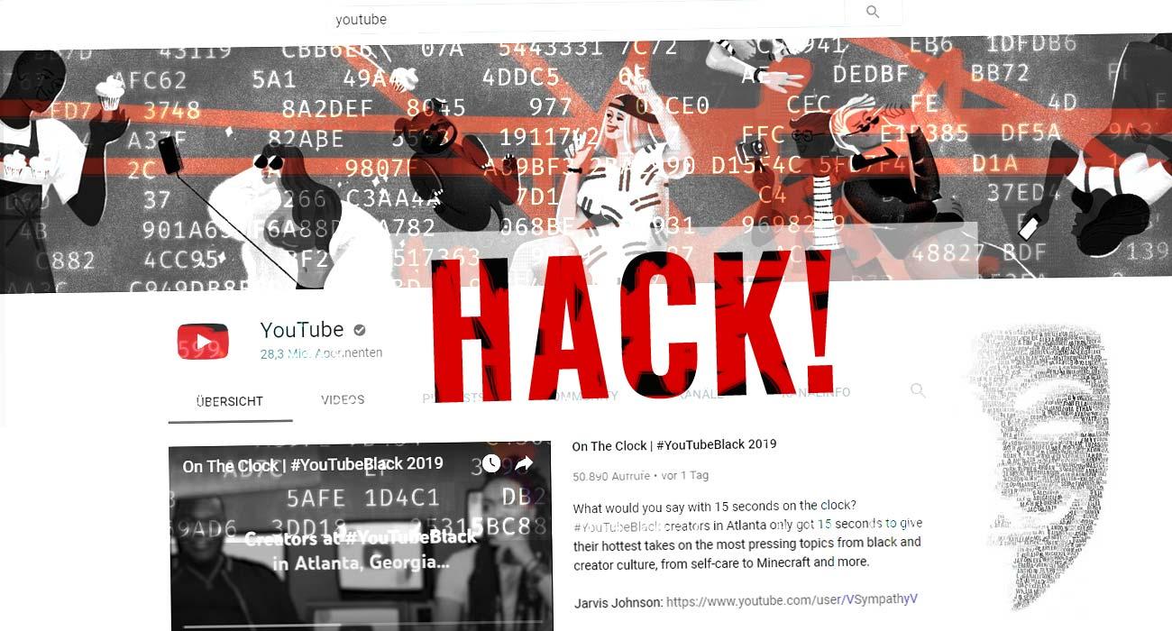 Account YouTube violato! Cosa fare? Blocca, cancella e non visibile - Aiuto