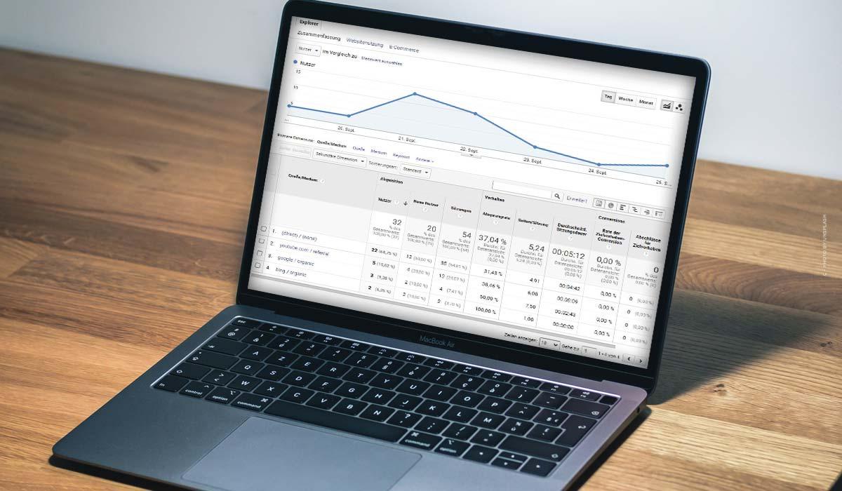 Parametri UTM: Definizione, Google Analytics per e-commerce, Youtube, Facebook & Co. + esempio