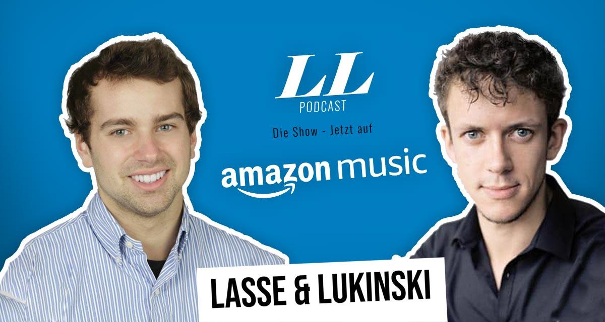 Amazon Music: Lasse & Lukinski Show ora anche su Amazon!
