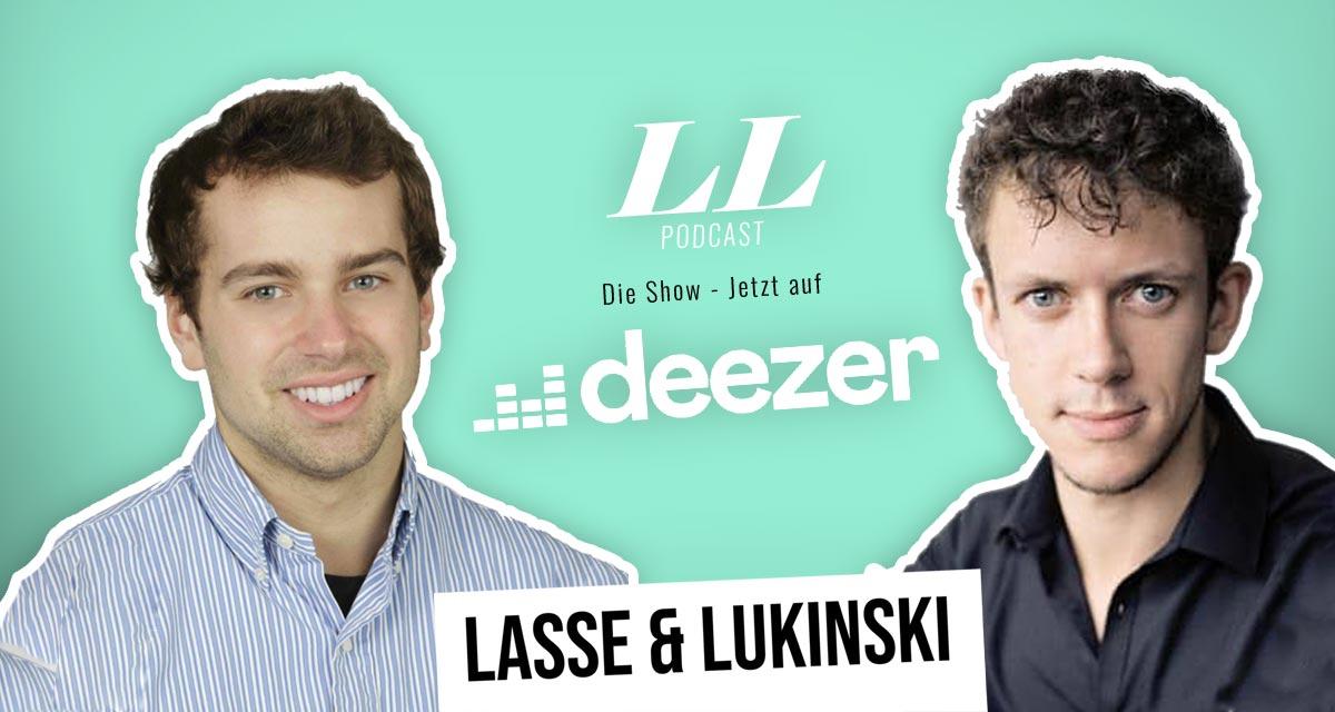 Deezer: Lasse & Lukinski Show ora anche su Deezer!